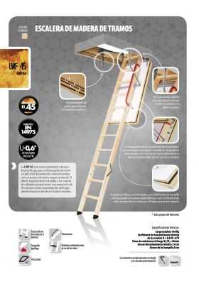 Escalera escamoteable LWF 45