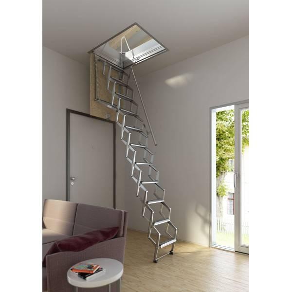 Escalera en kit de techo