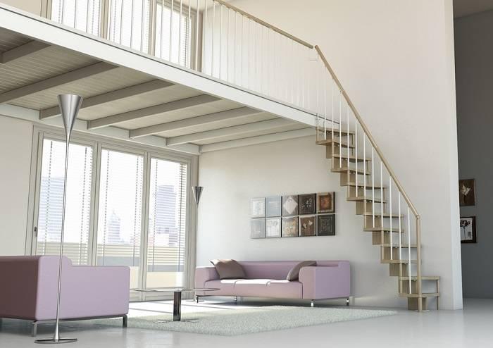 Escaleras de interior plegables de madera del blog de Escalerasa Idealkit