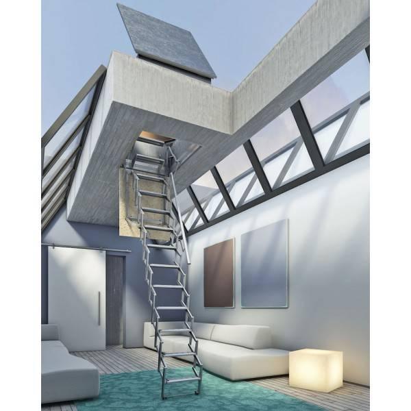 3 tipos de escaleras plegables ideales y sus ventajas - Escaleras de exterior ...