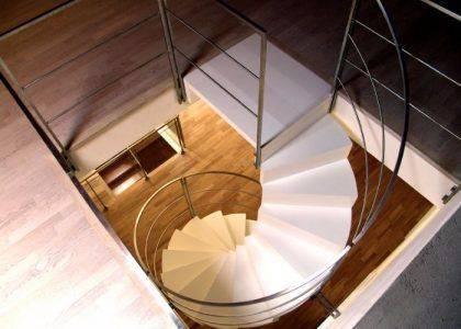 Escalera de interiores de caracol - Escaleras Idealkit