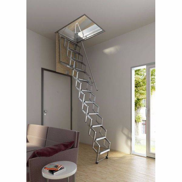 Escalera en kit escamoteable de techo - Escaleras Idealkit