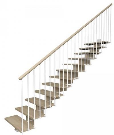 Escaleras de interior de tramos KREA - Escaleras en kit Idealkit