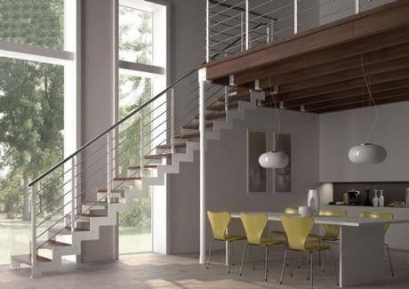 Escaleras de tramo para altillos - Escaleras idealkit