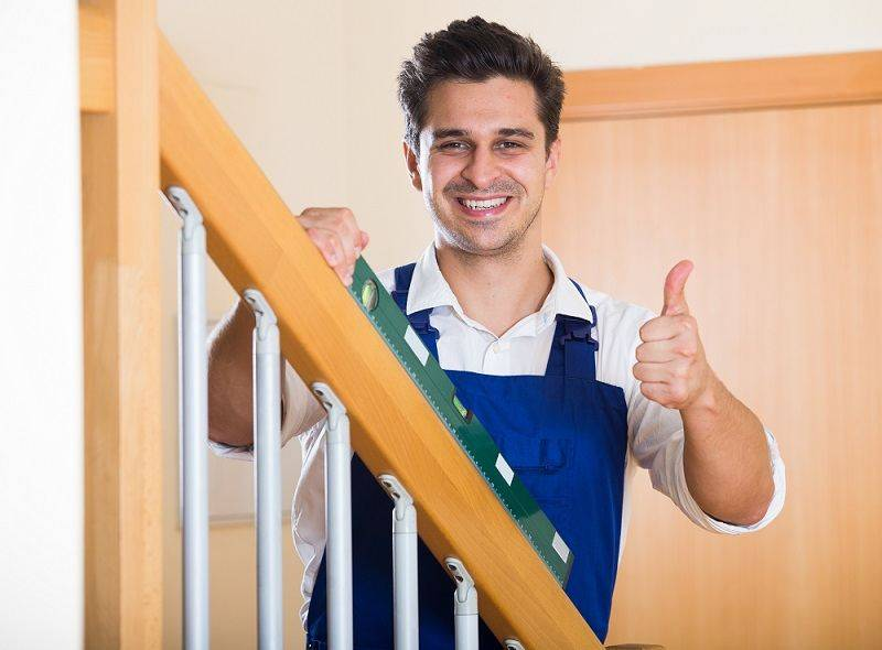 Medir y montar barandillas-Escaleras Idealkit