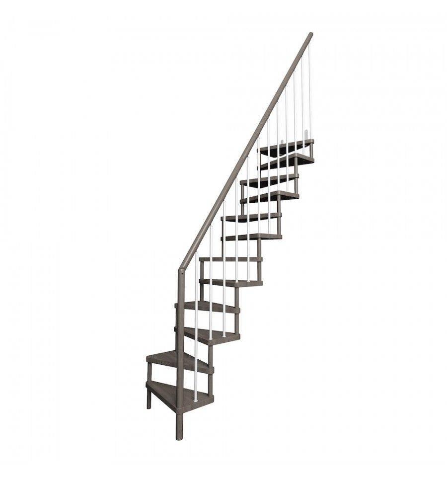 escalera en kit de madera basik - Escaleras Idealkit