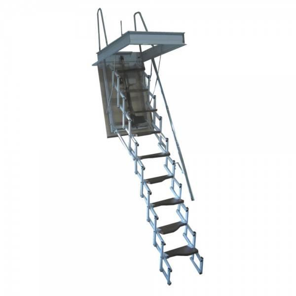 Escaleras madera escamoteables