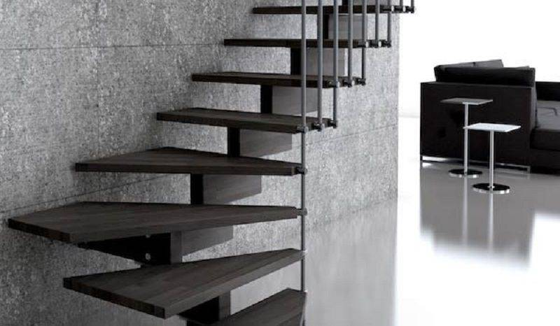 Escaleras idealkit comunicando espacios con escaleras en kit - Peldanos de madera para escalera ...
