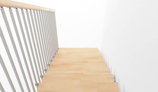 ¿Qué elementos componen una escalera?