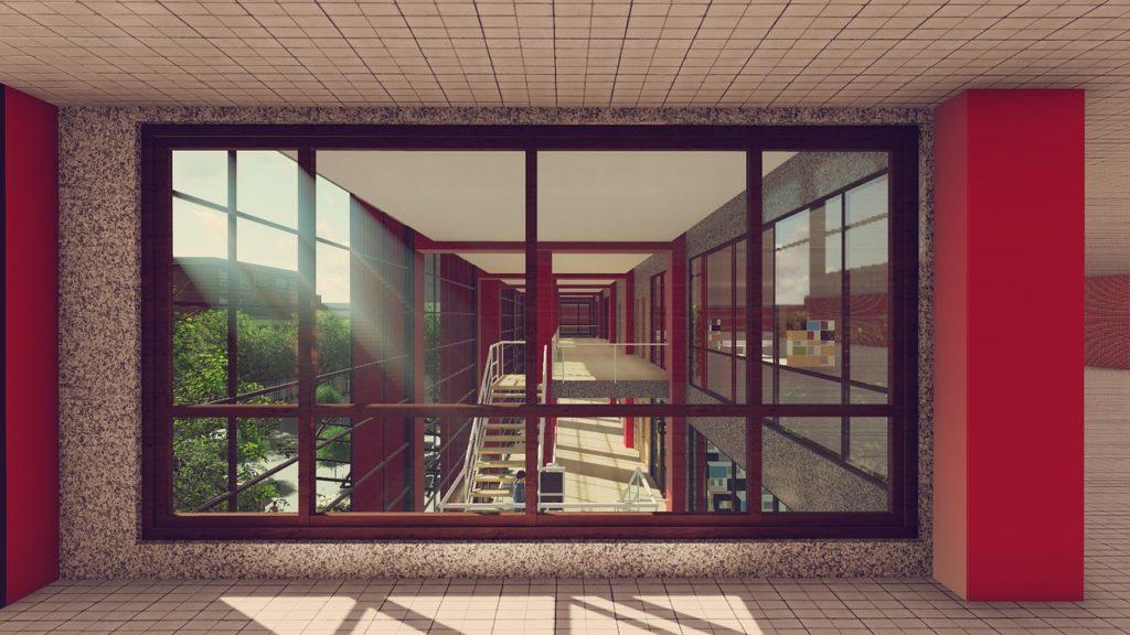 Escaleras en casas espaciosas Lofts