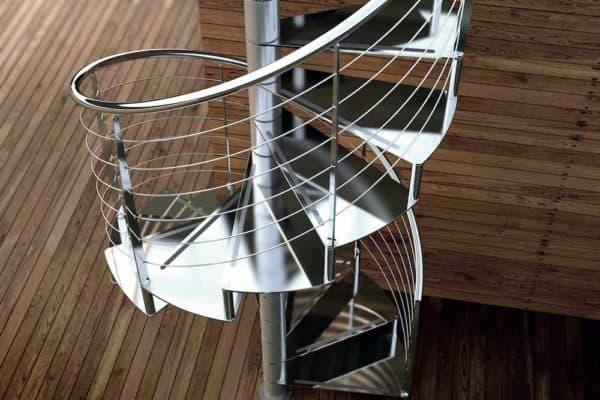 Escaleras de acero inoxidable